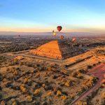 costo de viajar en globo pirámides de teotihuacan