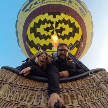 Vuelo en globo y Transporte desde la CDMX