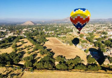 paseos en globo teotihuacán