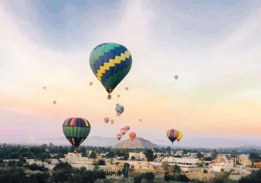 viajar en globo aerostatico