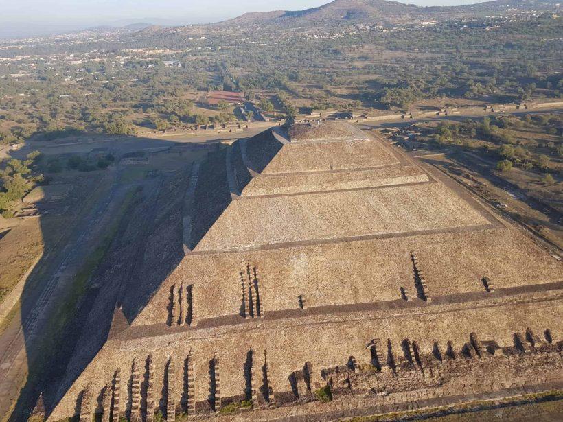viajar en globo teotihuacan precios