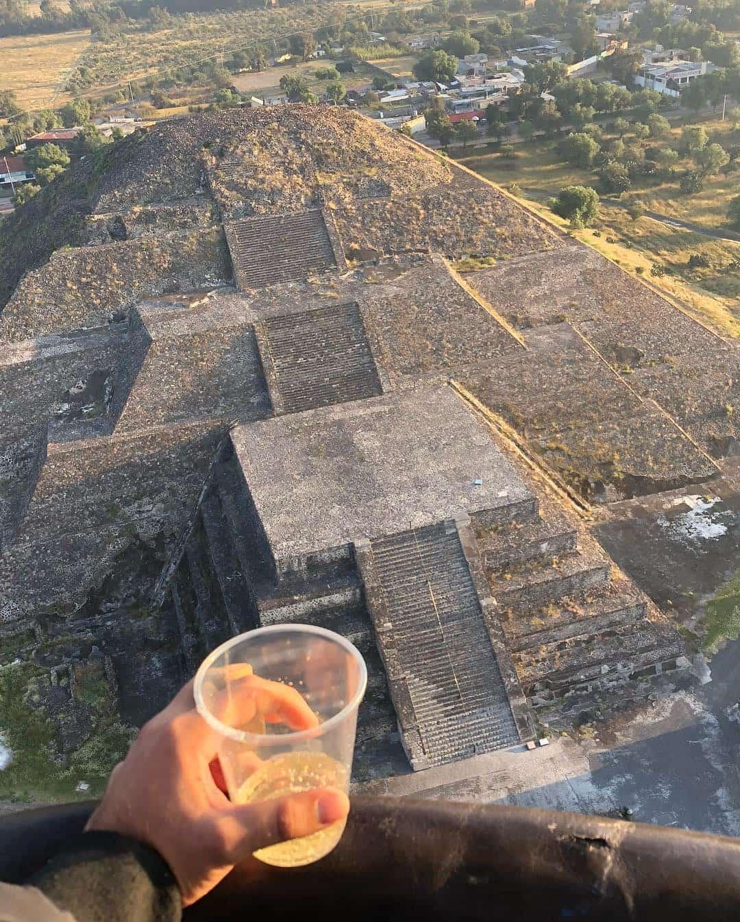 vuelo cumpleaños en teotihuacan precios