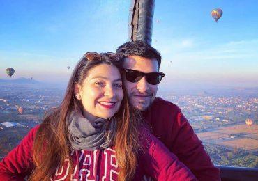 vuelo en globo parejas