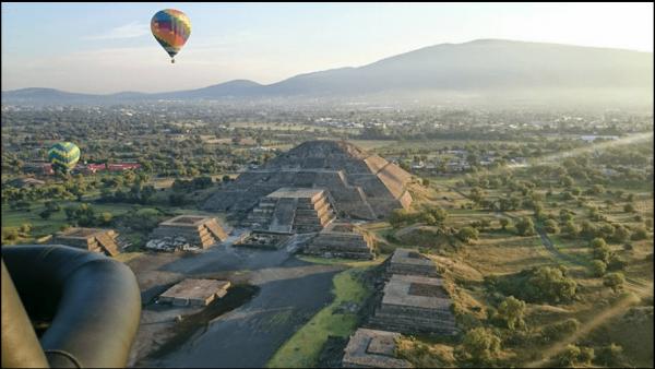 paseos en globo aerostático en teotihuacán 1