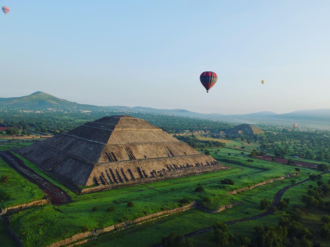 paseo en globo teotihuacan cuanto cuesta