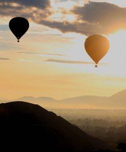 teotihuacan globos amanecer precios