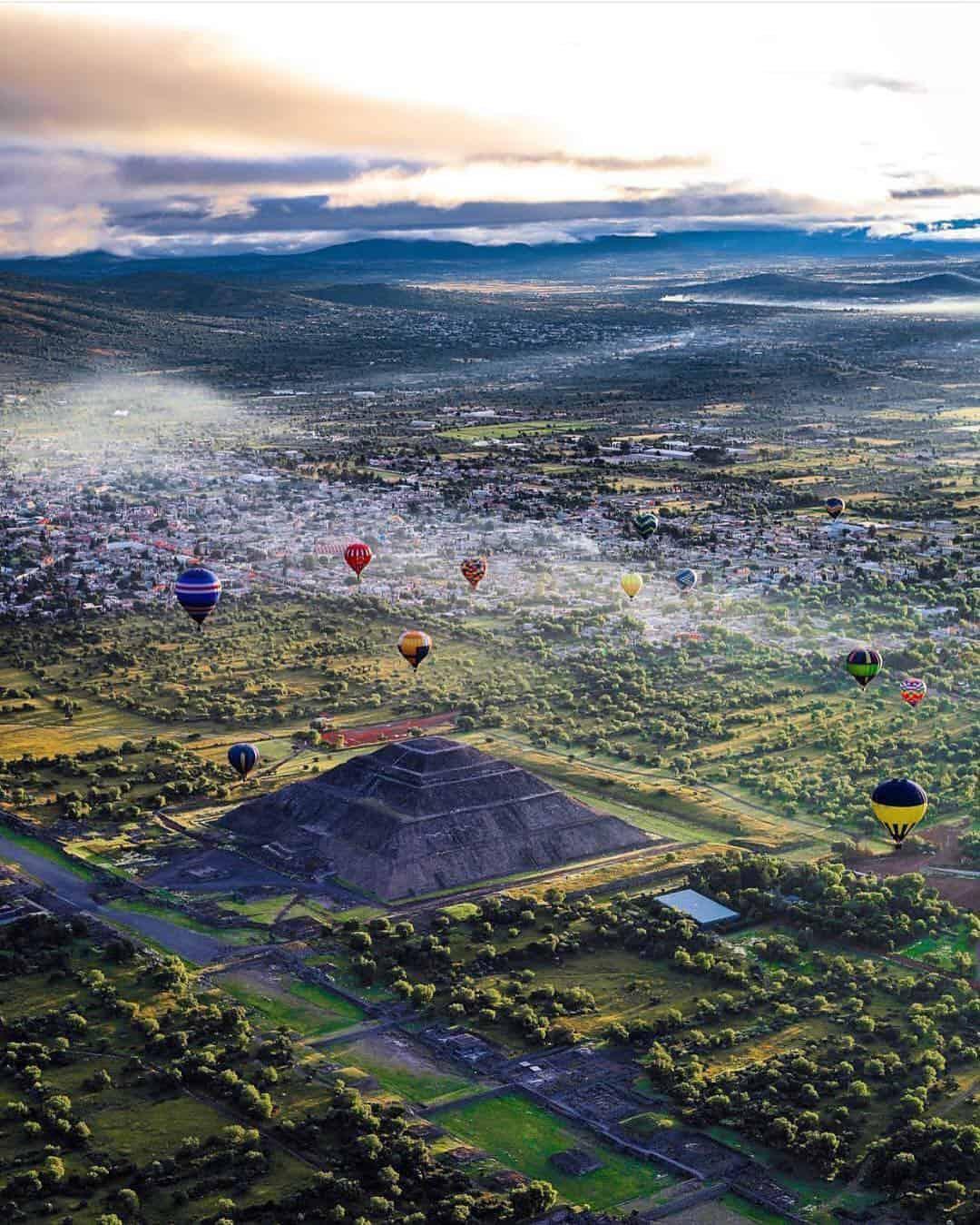 viaje en globo teotihuacan cuanto cuesta subirse