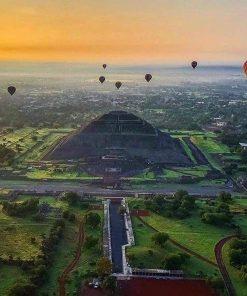 vuelo en globo teotihuacan tours