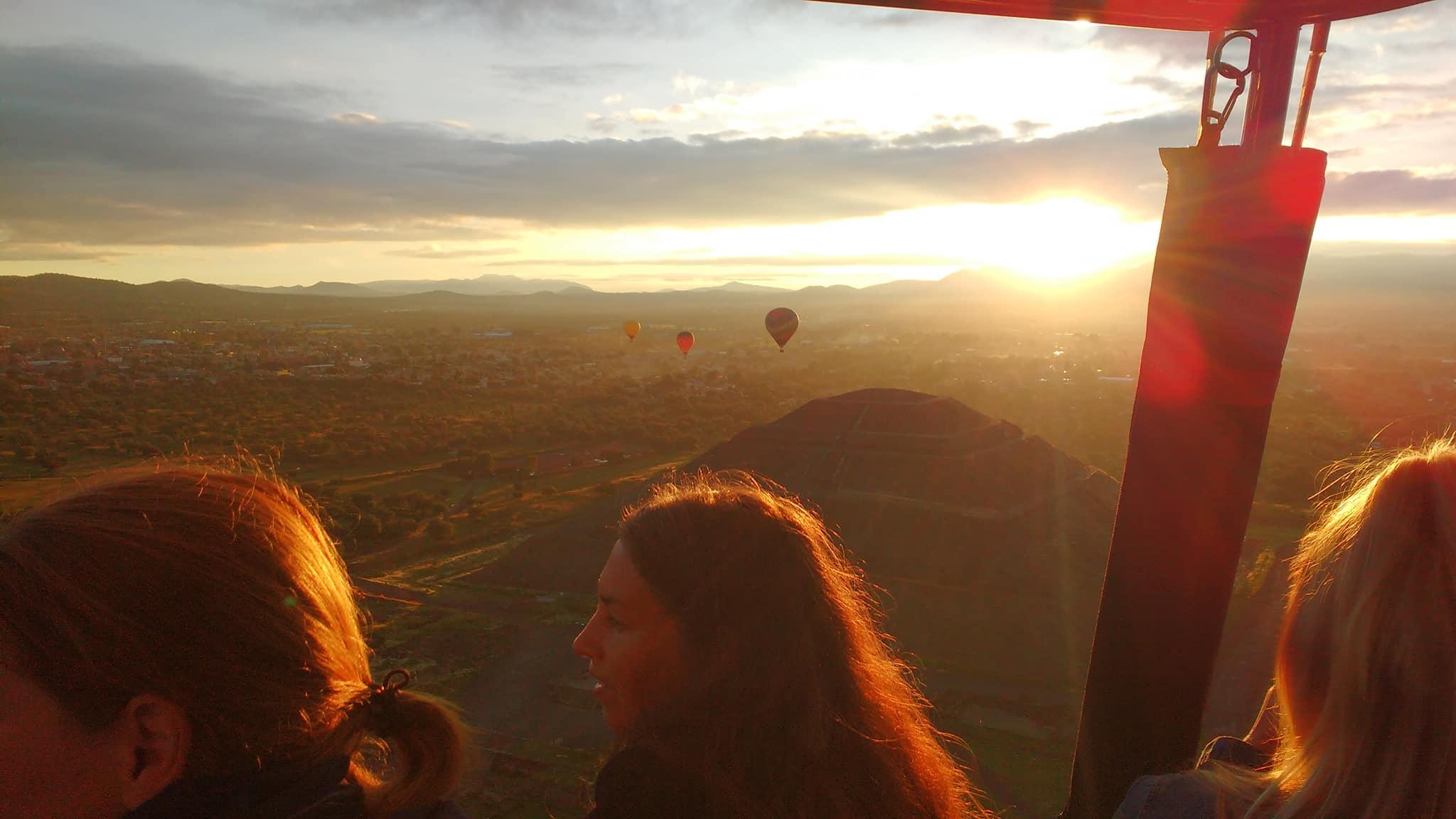 globos aerostaticos en teotihuacan costos