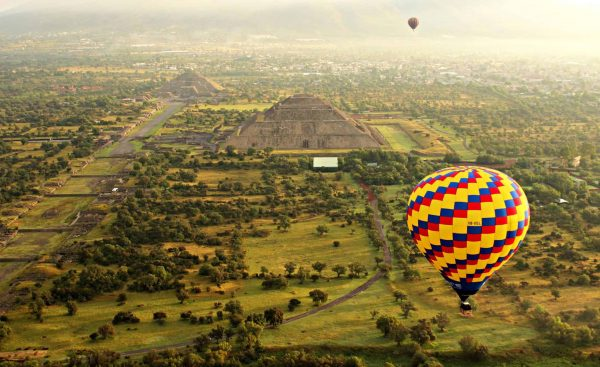 globos aerostáticos en Teotihuacán 2020 precios