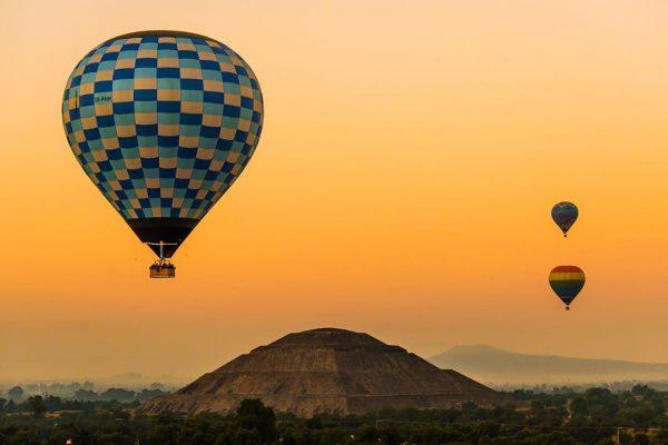 volar en globo aerostático precios 2020