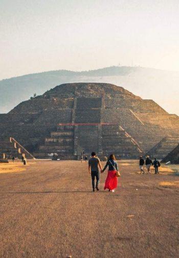 VISITA A LA ZONA ARQUEOLÓGICA DE TEOTIHUACÁN