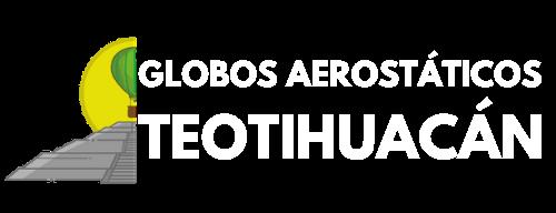 globos aerostaticos teotihuacan logo 2020 color blanco e1592444635588