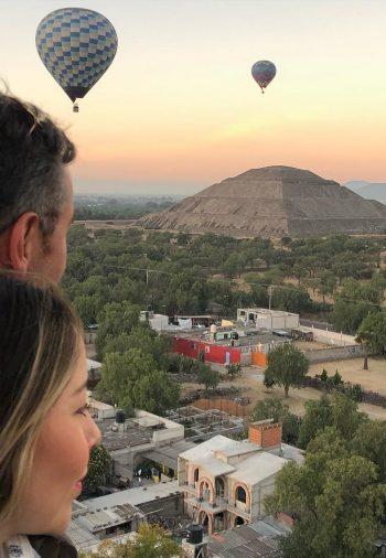 viajes en globo teotihuacan